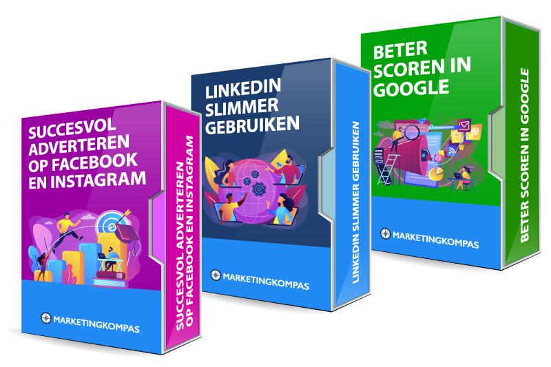 3 online marketing trainingen